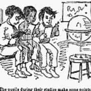 Elementary School, 1869 Art Print