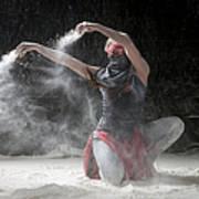 Flour Dancer Series Art Print by Cindy Singleton