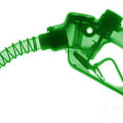 Gas Nozzle, X-ray Art Print
