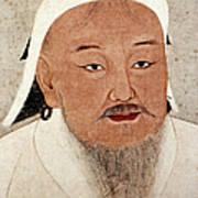 Genghis Khan (1162-1227) Art Print