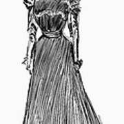 Gibson Girl, 1899 Art Print