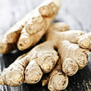 Ginger Root Art Print