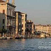 Grand Canal. Venice Art Print by Bernard Jaubert