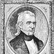 James K. Polk (1795-1849) Art Print