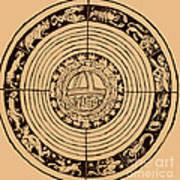 Medieval Zodiac Art Print