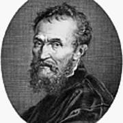 Michelangelo (1475-1564) Art Print by Granger