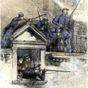 Paris Commune, 1871 Art Print
