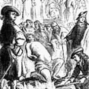 Persecution Of Waldenses Art Print