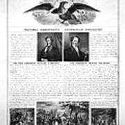 Presidential Campaign 1840 Art Print