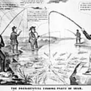 Presidential Campaign, 1848 Art Print
