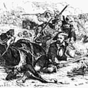 Sam Houston (1793-1863) Art Print
