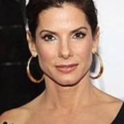 Sandra Bullock At Arrivals For The Art Print