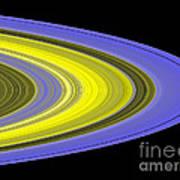 Saturns Rings Art Print