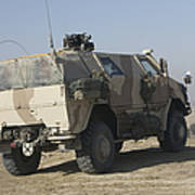 The German Army Atf Dingo Armored Art Print