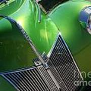 40 Ford - Grill Angle-8659 Art Print