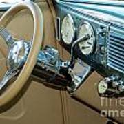 40 Ford Coupe Dash Art Print