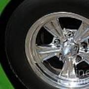 40 Ford-driver Rear Wheel 2-8577 Art Print