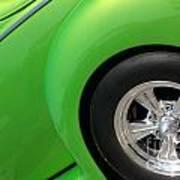 40 Ford-driver Rear Wheel-8581 Art Print