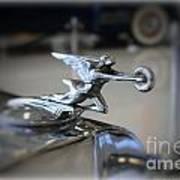 41 Packard Hood Ornament Art Print