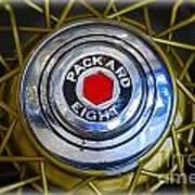 41 Packard Wheel Art Print