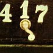 417 With A Twist Art Print