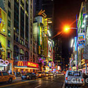 42nd Street Nyc 3.0 Art Print