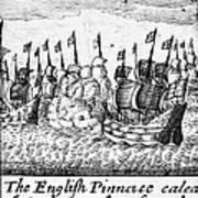 Spanish Armada, 1588 Art Print