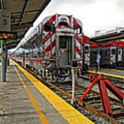 4th And King St. Caltrains Station - San Francisco Art Print