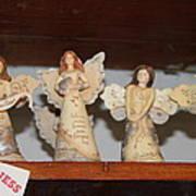 5 Angels Art Print