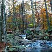 Big Hunting Creek Upstream From Cunningham Falls Art Print