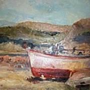 Boats Art Print by George Siaba