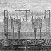 Brooklyn Bridge, 1870 Art Print