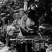 Climax Geared Locomotive Art Print