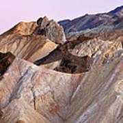 Golden Canyon Death Valley Art Print