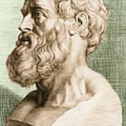 Hippocrates, Greek Physician Art Print