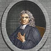 John Flamsteed, English Astronomer Art Print