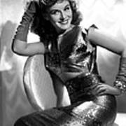 Paulette Goddard, Paramount Pictures Art Print