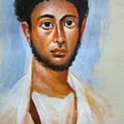 Portrait Art Print by George Siaba