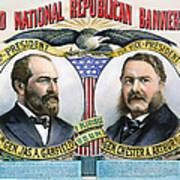 Presidential Campaign, 1880 Art Print