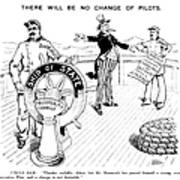 Presidential Campaign, 1904 Art Print