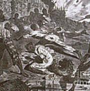 Siege Of Vicksburg, 1863 Art Print