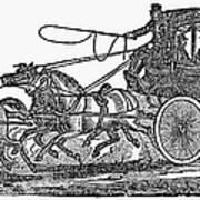 Stagecoach, 19th Century Art Print