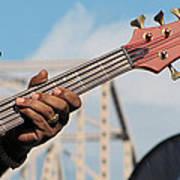 5-string Bass Art Print