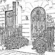 The Doors Of London Art Print