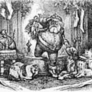 Thomas Nast: Santa Claus Art Print