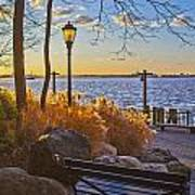 View From Battery Park City Art Print