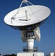 50-foot Dish Antenna At Kennedy Space Art Print