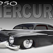 50 Mercury Coupe Art Print