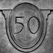50 Art Print