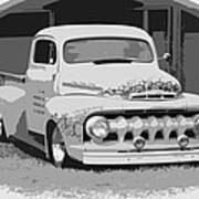 51 Ford Pickup  Art Print